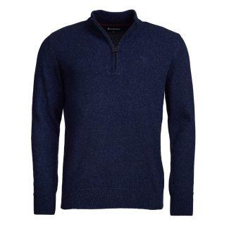 Barbour Mens Tisbury Half Zip Sweater