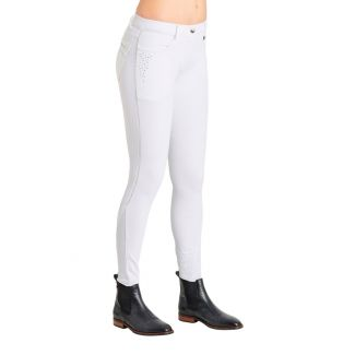 Montar Aria White Stones Fullgrip Breeches - Chelford Farm Supplies
