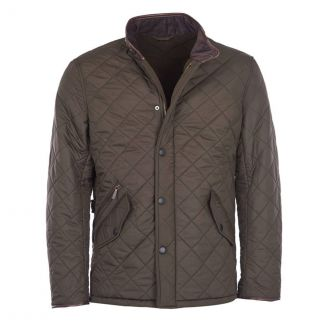 Barbour Mens Powell Quilted Jacket - Chelford Farm Supplies