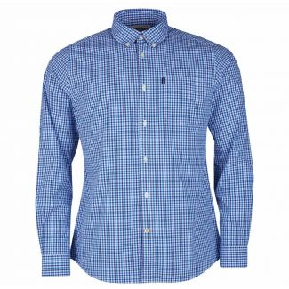 Barbour Mens Gingham 1 Tailored Fit Shirt - Cheshire, UK