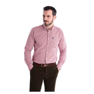 Barbour Mens Gingham 10 Tailored Shirt