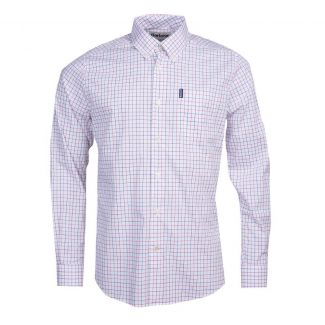 Barbour Mens Tattersall 16 Tailored Fit Shirt