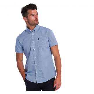 Barbour Mens Gingham 17 Short Sleeved Tailored Fit Shirt - Cheshire, UK