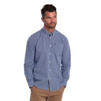 Barbour Mens Gingham Tailored Shirt