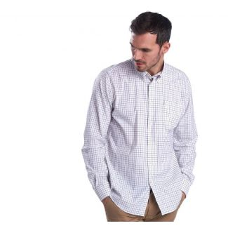 Barbour Mens Batley Performance Tattersall Tailored Fit Shirt - Cheshire, UK