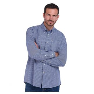 Barbour Mens Gingham 10 Regular Fit Shirt