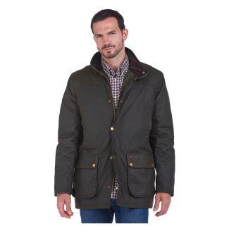 Barbour Mens Hartlington Waxed Cotton Jacket