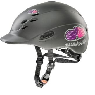 Uvex Onyxx Friends Forever Riding Helmet Anthracite Matt