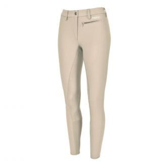 Pikeur Ladies Lugana Stretch Full Seat Breeches Tan | Chelford Farm Supplies