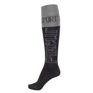 Pikeur Ladies Sports Logo Knee Socks