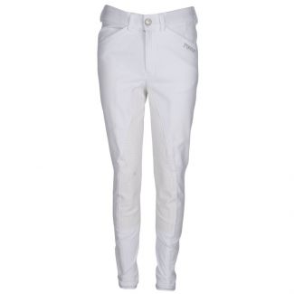 Pikeur Kids Braddy Grip Breeches White