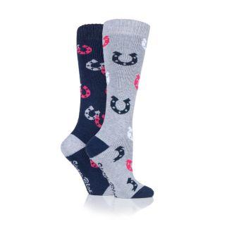 Storm Bloc Ladies Plumpton Socks 2 Pack - Chelford Farm Supplies