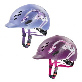 Uvex Onyxx Princess Riding Helmet - Chelford Farm Supplies