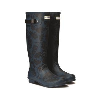 Hunter Womens National Trust Print Norris Field Wellington Boots