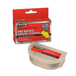 Pest-Stop Pre-Baited Mouse Station