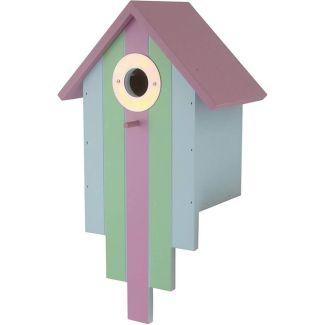 Red Barn Multi Coloured Bird Nesting Box | Chelford Farm Supplies