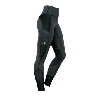 Horseware Ladies Riding Tights Charcoal