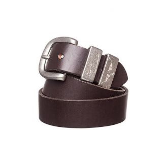 RM Williams Mens 3 Piece Solid Hide Belt