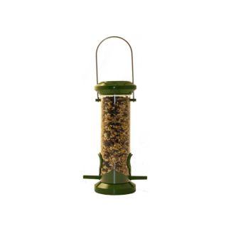 Red Barn Small Metal Bird Seed Feeder | Chelford Farm Supplies