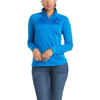 Ariat Ladies Sunstopper 2.0 1/4 Zip Baselayer Top
