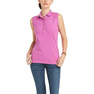 Ariat Ladies Prix 2.0 Sleeveless Polo Shirt