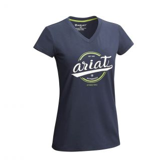 Ariat Ladies Authentic Logo T-Shirt