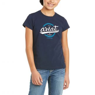 Ariat Girls Youth Authentic Logo T-Shirt
