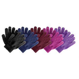 Saddlecraft Child's Magic Riding Gloves Black - Chelford Farm Supplies