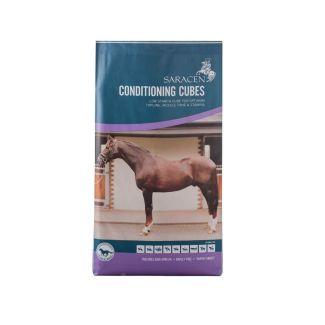 Saracen Conditioning Cubes Horse Feed 20kg - Chelford Farm Supplies