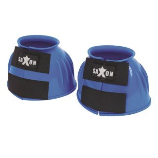 Saxon Double Tape PVC Ribbed Over Reach Bell Boots