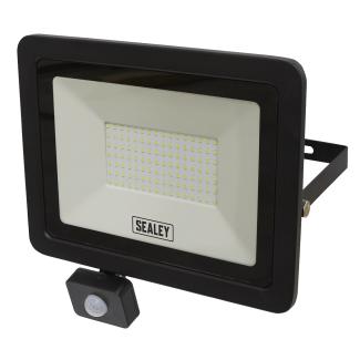 Sealey Extra Slim 100W SMD LED Floodlight with PIR Sensor - Cheshire, UK