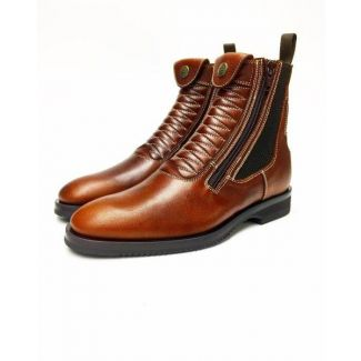 Secchiari Hera Cotto Ankle Jodhpur Boots Light Brown
