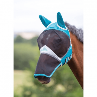 Shires Air Motion Ears & Nose Full Fly Mask - Chelford Farm Supplies