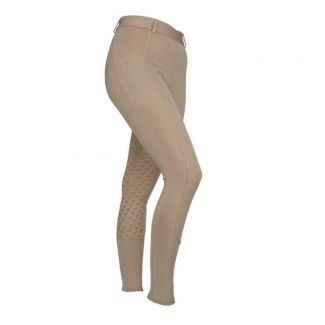 Shires Childrens Aubrion Albany Riding Tights Beige