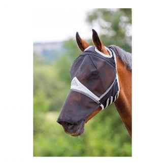 Shires Fine Mesh Fly Mask With Ear Holes & Nose | Chelford Farm Supplies