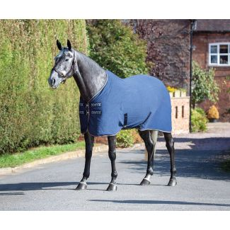 Shires Tempest Original Airnergize Cooler Rug Navy - Chelford Farm Supplies