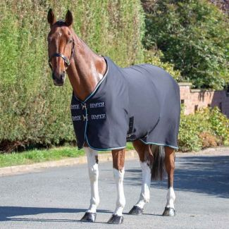 Shires Tempest Original Jersey Cooler Rug Black - Chelford Farm Supplies
