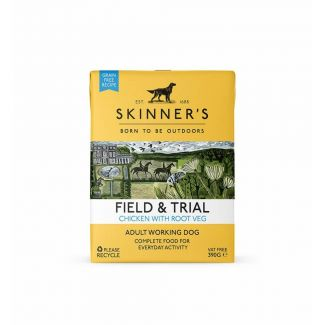 Skinners Field & Trial Chicken with Root Veg Dog Food 390g | Chelford Farm Supplies