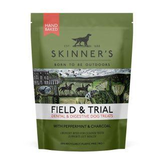 Skinners Field & Trial Digestive & Dental Dog Treats 90g   Chelford Farm Supplies