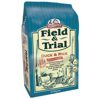 Skinners Field & Trial Duck & Rice Dog Food 2.5kg - Chelford Farm Supplies