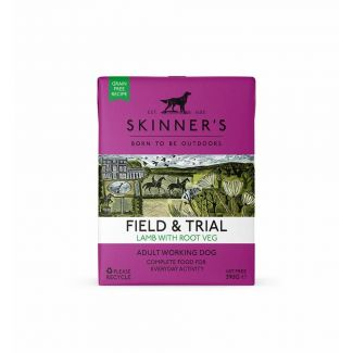 Skinners Field & Trial Lamb with Root Veg Dog Food 390g | Chelford Farm Supplies