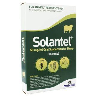 Solantel Oral Suspension Fluke Drench Sheep Wormer