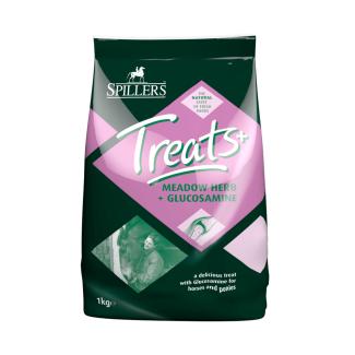 Spillers Meadow Herb + Glucosamine Treats 1kg - Chelford Farm Supplies