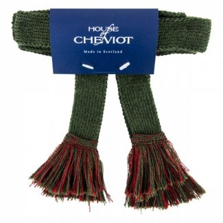 House of Cheviot Easy Garters With Velcro Spruce