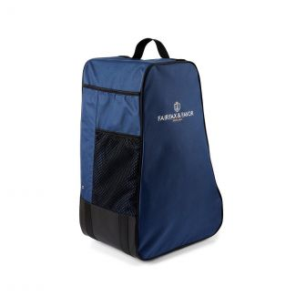 Fairfax & Favor Signature Boot Bag Navy