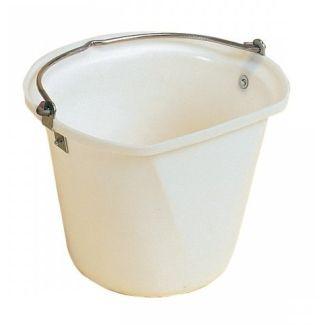 Stubbs Stable Bucket 4 Gallon White