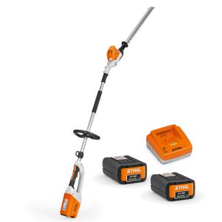 STIHL HLA 65 Battery Long Reach Hedge Trimmer Bundle