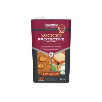 Barrettine Premier Wood Protective Treatment Summer Tan 5L - Cheshire, UK
