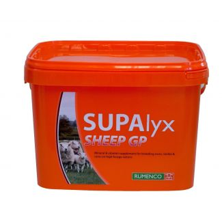 Rumenco SUPAlyx Sheep Mineral Bucket 22.5kg