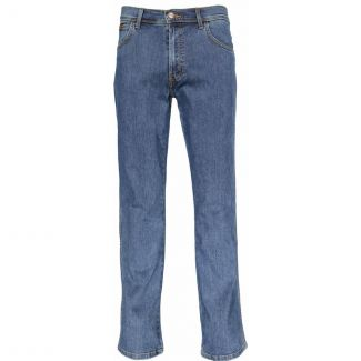 Wrangler Mens Texas Stretch Jeans Stonewash